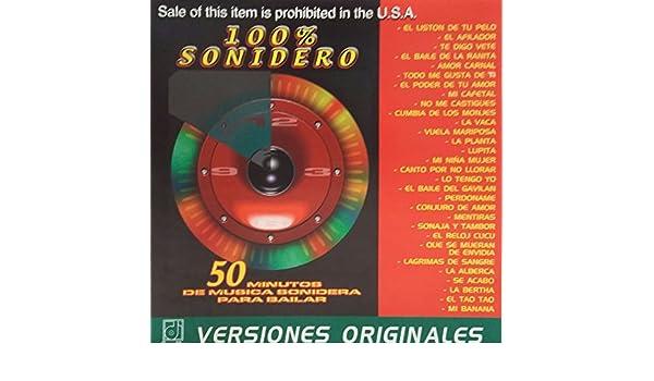 ... COLOMBIANO-ANGELES AZULES-JLB Y CIA-KAÑON-MR CHIVO-ETC - 100 % SONIDERO - 50 MINUTOS DE MUSICA SONIDERA PARA BAILAR - VERSIONES ORIGINALES (DISA)  ...