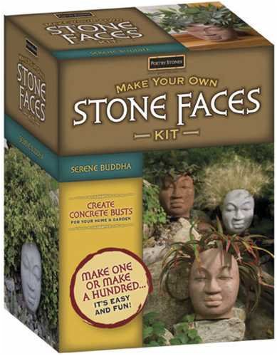 Genial Magnetic Poetry Make Your Own Stone Faces Kit, Serene Buddha (Discontinued  By Manufacturer)