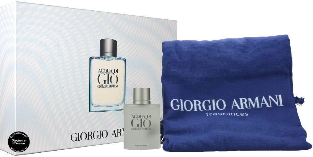 Armani Set Acqua Di Gio Hombre Y Toalla, 100 ml, Pack de 1