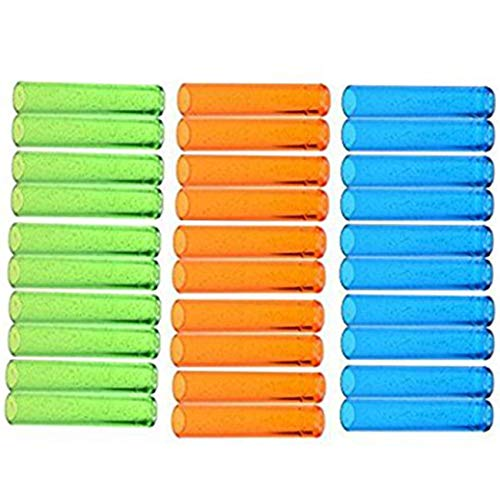 Ogrmar Assorted Colors Plastic Pencil Cap Pencil Shield Pencil Extender Holder 30pcs (Assorted Colors) -