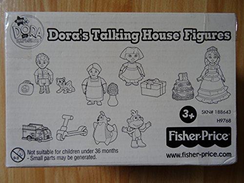 Dora's Talking House Figures