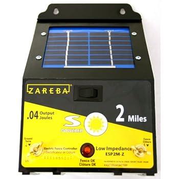 Amazon Com Parmak Magnum Solar Pak 12 Low Impedance 12