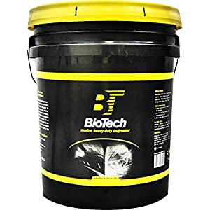 BioTech Marine Heavy Duty Degreaser, Industrial strength degreaser, 100% concentrated, Strong degreaser (5 Gallon Pail)