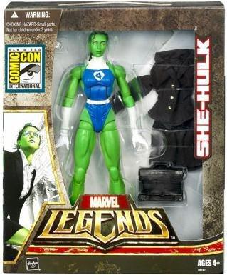 Marvel Legends Series 2 She-Hulk (Fantastic Four SDCC Exclusive) Action Figure Fantastic Four 4 Series Figure