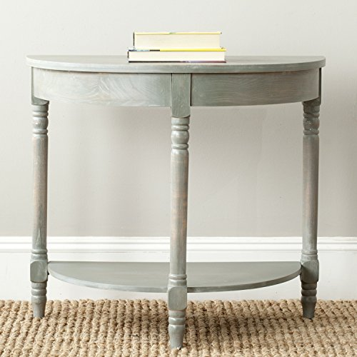 Safavieh American Homes Collection Randell French Grey Console (Collection Oval End Table)