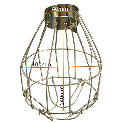 Leoie Retro Style Metal Lamp Covers Hanging Industrial Lamp Covers Pendant Decor for Home Decor by Leoie (Image #8)