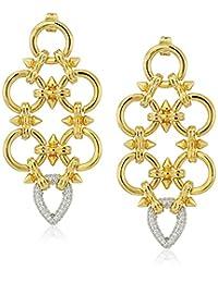 Noir Jewelry Gabriella Statement Drop Earrings