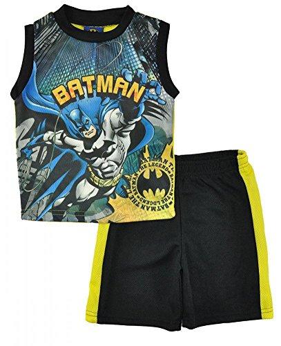 Batman+tank+top Products : Batman Little Boys Black Tank Top 2pc Short Set