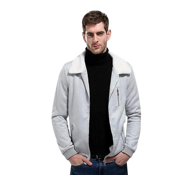 Abrigo De La Manera De Los Hombres Prendas Otoño Abrigo Vintage Invierno Grueso De Vestir Exteriores
