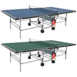 "Butterfly Playback 19 Table Tennis Table - 3 Year Warranty - USATT Approved - 3/4"" Top - Fold and Roll"