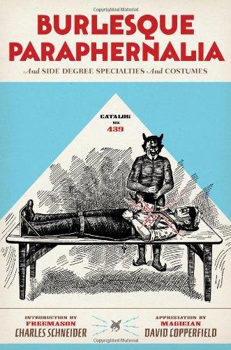 Catalog No. 439: Burlesque Paraphernalia and Side Degree Specialties and (Costumes Jokes)