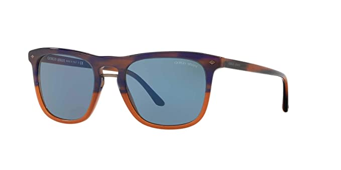 d90880ce Giorgio Armani Mens Sunglasses Brown/Blue Acetate - Non-Polarized ...