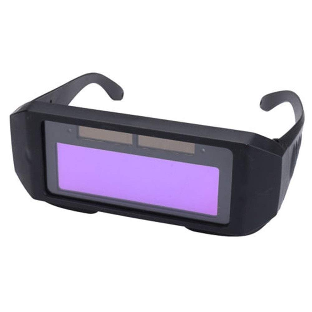 YUANYUAN521 Solar Auto Darkening Automatic Light Change Auto Darkening Welding Helmet Welding Lens Eyes Shied Goggle Glasses by YUANYUAN521