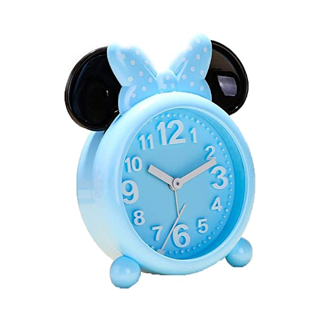 Amazon.com: Mickey Mouse Minnie Mouse - Reloj despertador ...