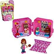 LEGO Friends Olivia's Shopping Play Cube 41407 Building Kit, Candy Store Fun Toy That Includes Candy Store Min