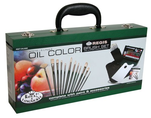 Royal & Langnickel RSET-OIL2000 Regis Oil Color Painting Box Set