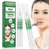 Acne Serum,Acne treatments Serum,Anti Acne Serum,Anti Pimple Serum,Mint Acne Face Serum Pen for Healthy Oil Control Balance Shrinking Pores Remover Pimple Restore Repair Skin