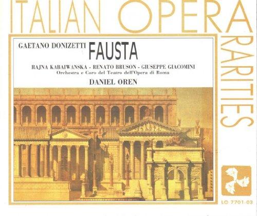 Price comparison product image Donizetti: Fausta (Italian Opera Rarities)