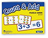 Learning Resources Count and Add Puzzle Cards