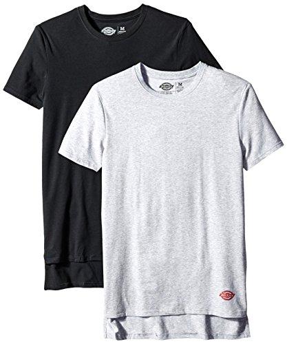 dickies-mens-2-pack-cotton-performance-black-grey-crew-t-shirt-black-grey-large