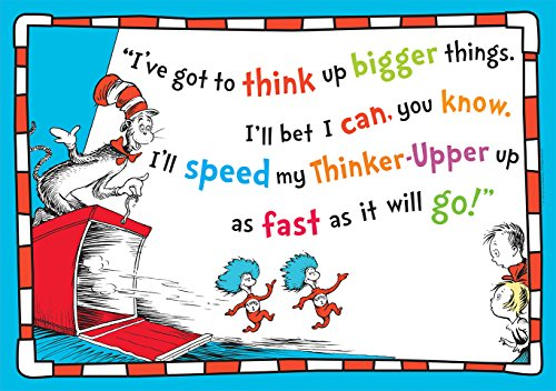 Eureka Dr.Seuss Cat in The Hat 'Think Bigger'