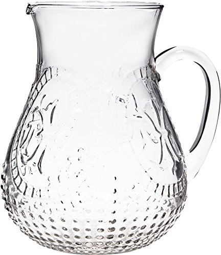 glass beer pitchers with handle - 6