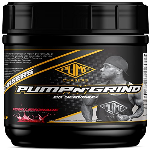 (Pump Chasers Pump and Grind Preworkout Powder)