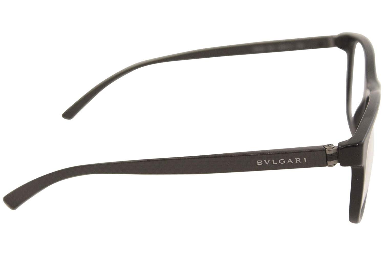 ec029f5b06 Bvlgari Men s BV3036 Eyeglasses Black 53mm at Amazon Men s Clothing store