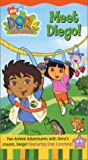 DVD : Dora the Explorer - Meet Diego [VHS]