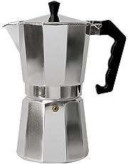 Primula cafetera de espresso de aluminio – para café expreso de cuerpo completo – fácil de usar – hace 1 taza