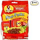 Sun-Maid Mini-Snacks Raisins - 28 x 14g