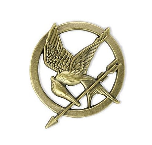 The Hunger Games Movie Mockingjay Prop Rep Pin NECA 31610 B0074BVDWC
