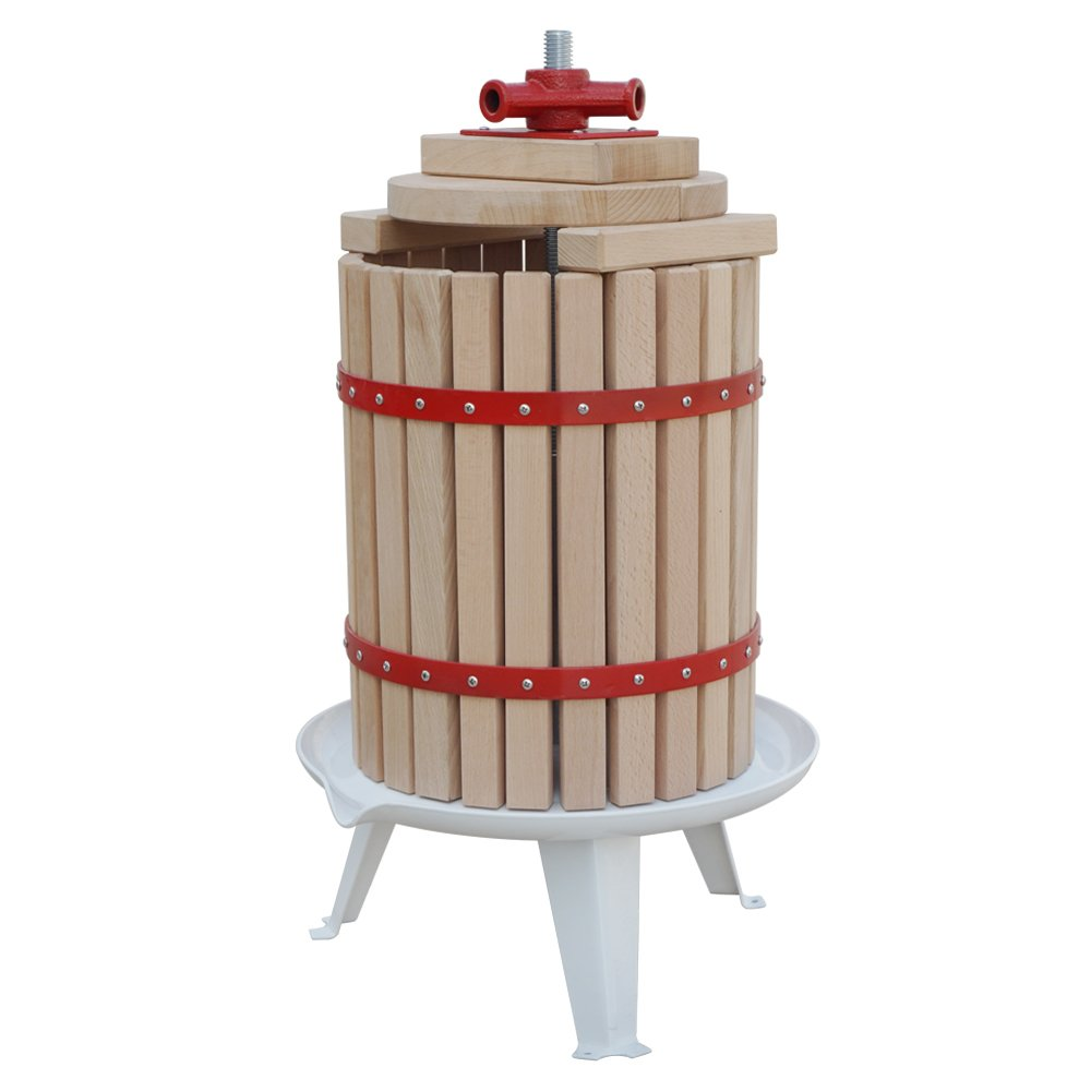 FISTERS 18L Wood Fruit Wine Press Cider Apple Grape Crusher Juice Maker Tool by FISTERS (Image #5)