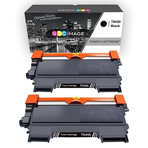 Model Drum Cartridge (GPC Image Compatible Toner Cartridge Replacement for Brother TN-450 TN450 TN420 to use with HL-2270DW HL-2280DW HL-2240 MF7860DW MFC-7360N DCP-7065DN MFC7860DW Intellifax 2840 2940 Printer (2-Black))