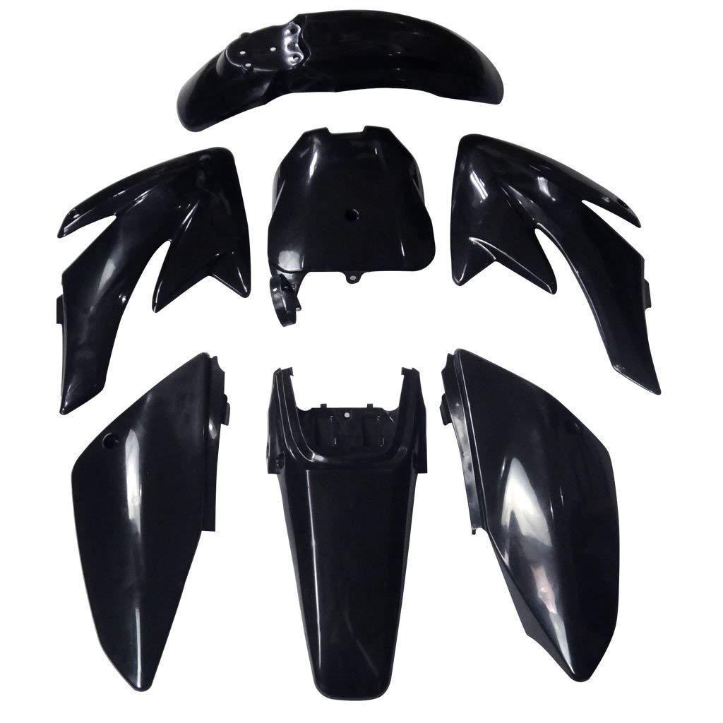 WPHMOTO Plastics Fairing Kit Body Fender Parts /& Fuel Tank /& Seat /& Cup for CRF70 CRF 70 Dirt Pit Bike White