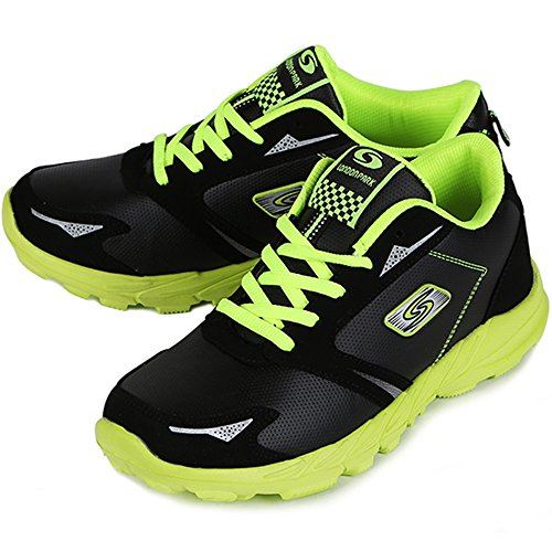 New Sports Walking Sneakers Womens Running Trainer Casual Scarpe Da Ginnastica Atletiche Nero Verde