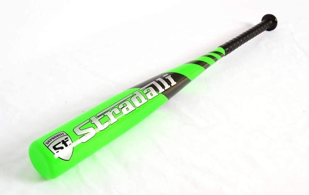 Stradalli 100%カーボンファイバー 野球バット ユースグリーン 17オンス