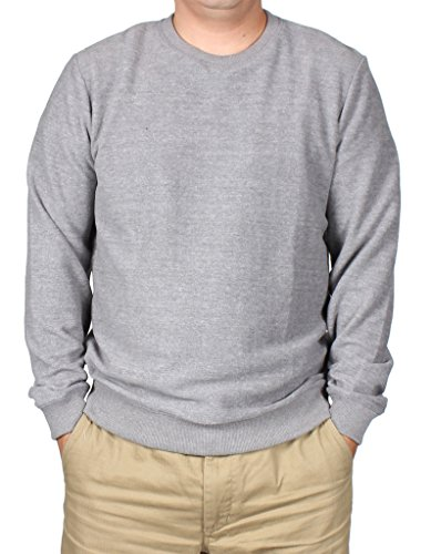 A.P.C. Men's Sweatshirts Tops in Gris Chine Grey S from A.P.C.