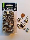 Mini Binder Clips Silver