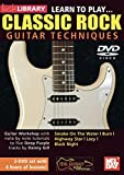 Learn To Play Classic Rock Guitar Techniques Deep Purple 2-DVD Set