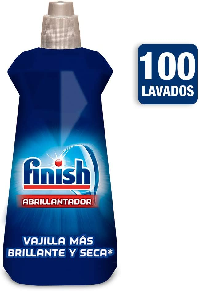 Finish Abrillantador Lavavajillas Limón - 500 ml: Amazon.es: Salud ...