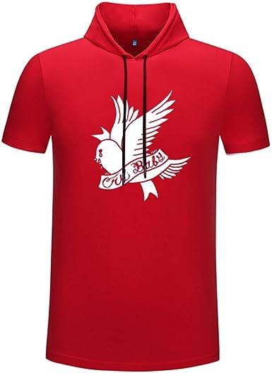 Lil Peep Camiseta Vintage Summer Student Camiseta de Manga Corta Camiseta Deportiva de Colorblock Camiseta de Hombre: Amazon.es: Ropa y accesorios