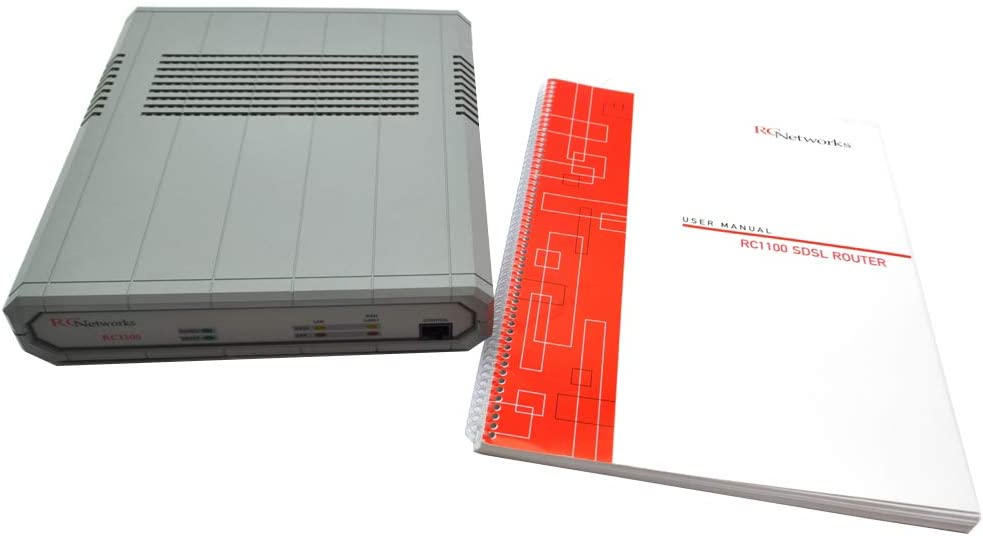 RC Networks RC1100 Network SDSL Symmetric Digital Subscriber Line Router