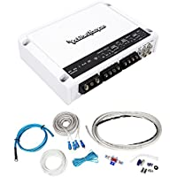 Rockford Fosgate M400-4D 400w 4-Channel Marine/Boat Amplifier+Marine Wire Kit