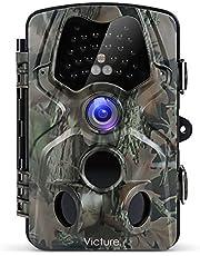 """Victure Wildkamera Fotofalle 12MP 1080P Full HD Jagdkamera 120°Weitwinkel Vision Infrarote 20m Nachtsicht Wasserdichte IP66 Überwachungskamera mit 2.4"""" LCD Display"""