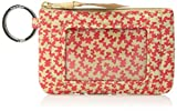 Vera Bradley Iconic Zip ID Case, Signature Cotton, Superbloom Sketch