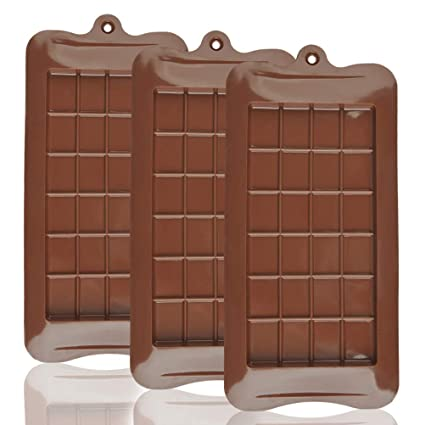 Molde de silicona para chocolate
