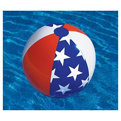 American Flag Beach Ball - 2