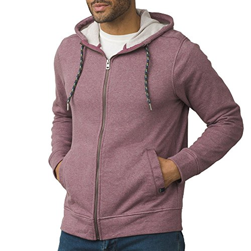 prAna Asbury Full Zip Hood, Thistle Heather, Large by prAna
