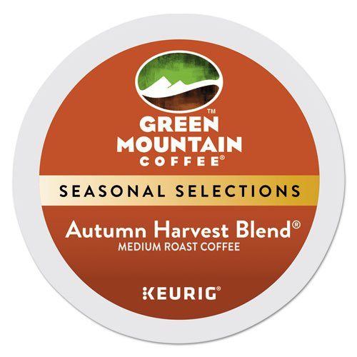 Green Mountain Coffee Autumn Harvest Blend K-cup for Keurig Brewers,  24 Upon